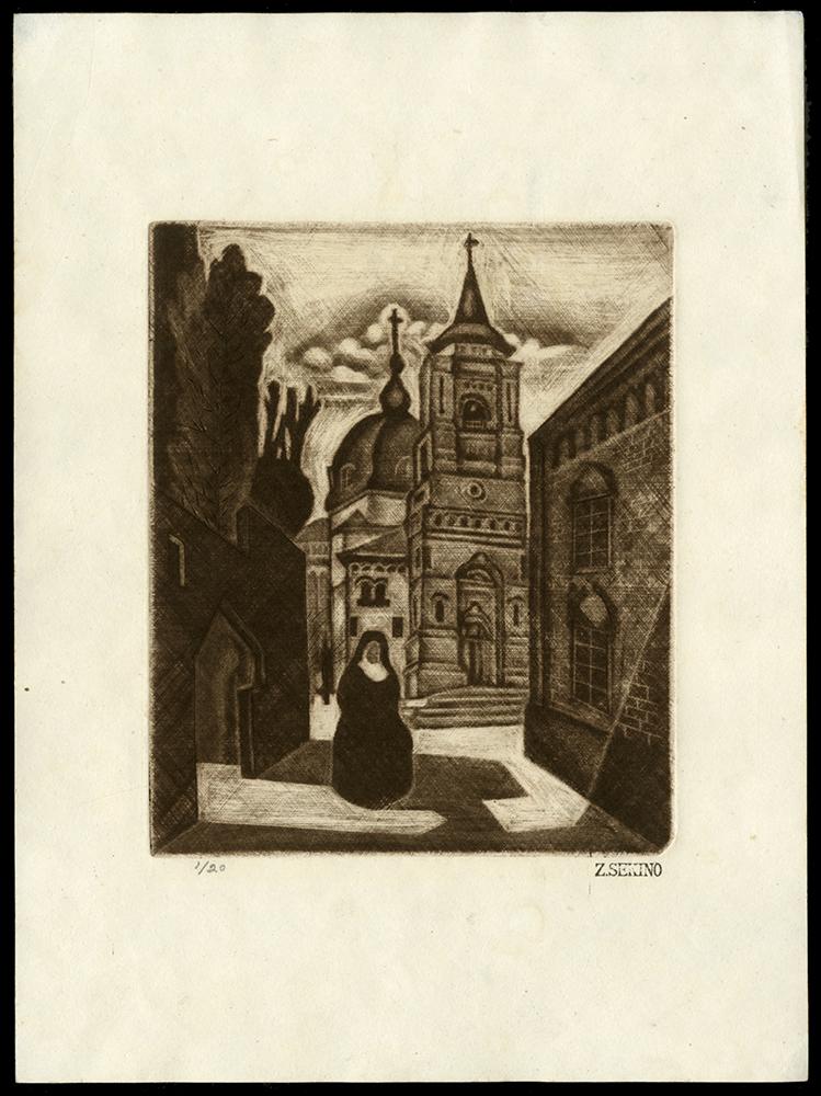 Chapel and Nun