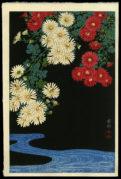 Chrysanthemum and Stream