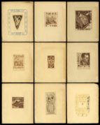 Collection of Ex-Libris Plates