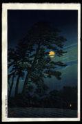 Full Moon at Magome