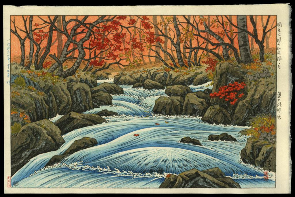 Oirase in Autumn