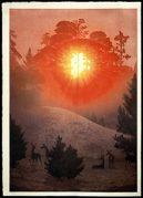 Mendocino, Sunrise