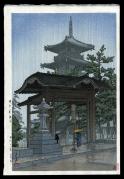 Zentsuji Temple in Rain