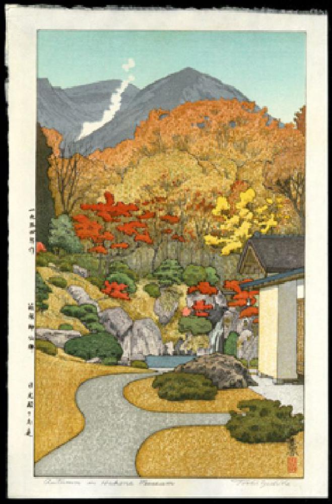 Autumn in Hakone Museum