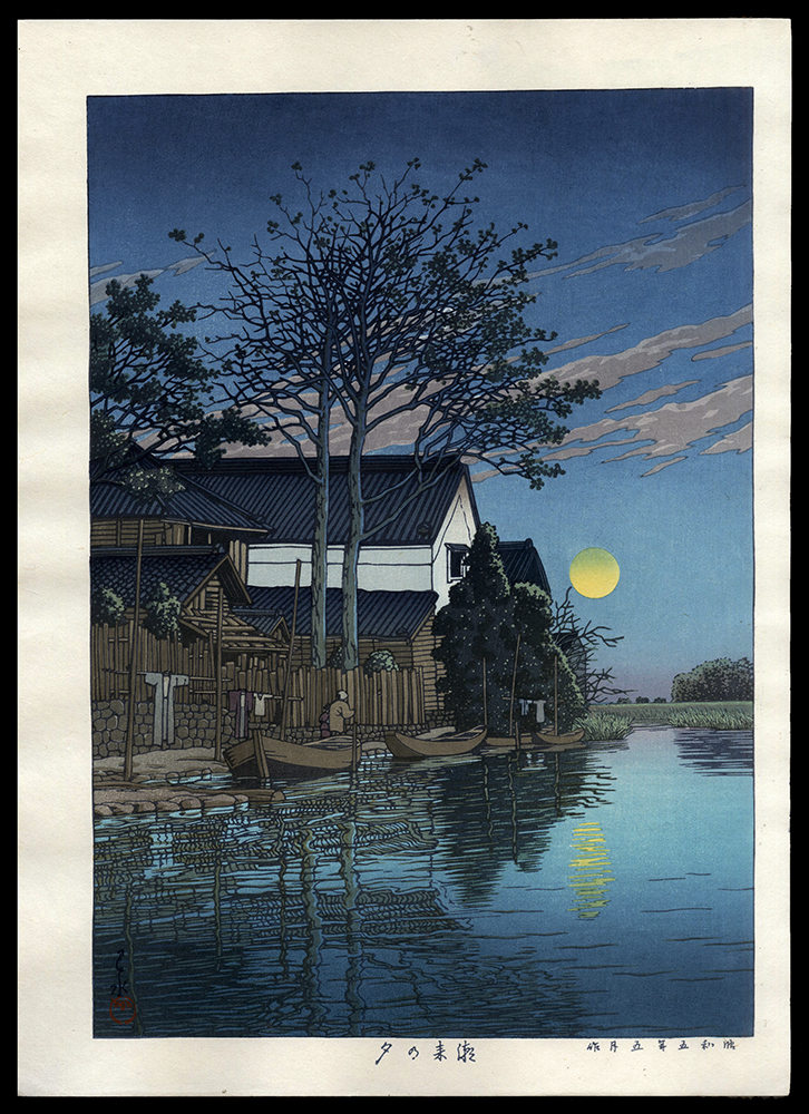Evening at Itako
