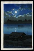 Full Moon at Arakawa River