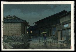 Nissaka on the Tokaido Road