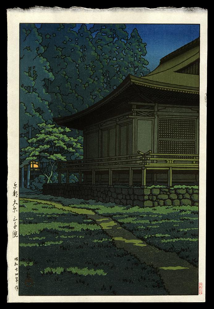 Moonlight at Sanzenin Shrine.  Kyoto