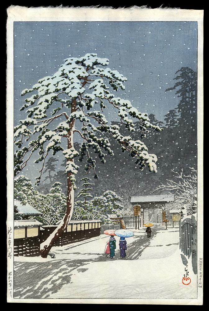 Honmon-ji Temple in Ikegami