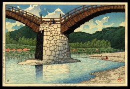 The Kintai Bridge in Suo Province