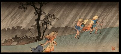 Travelers in the Rain