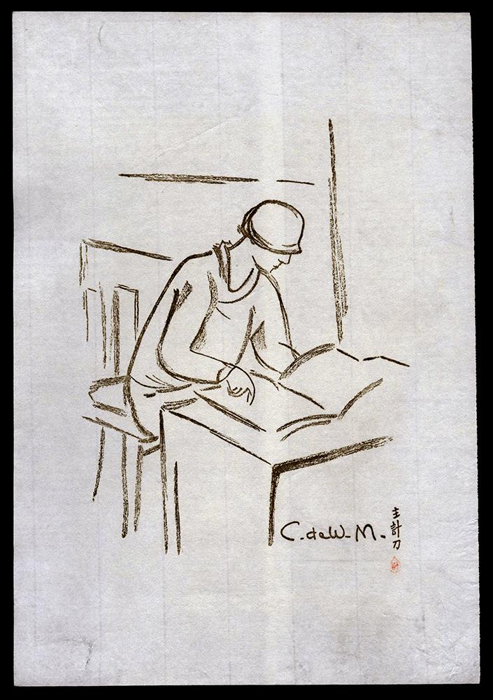C. de W M.