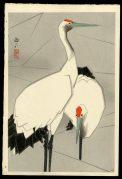 Two Cranes- A