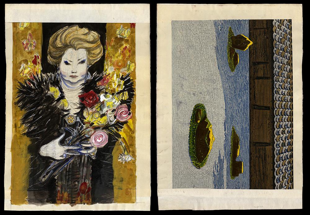 Two Sided Work: Noriko Awaya and Zen Rock Garden