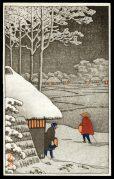 Village in Fallen Snow