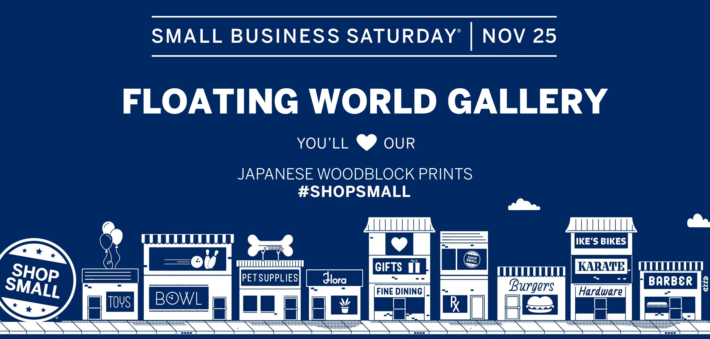 Small Business Saturday – Save 5% on Everything