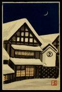 Houses in Fallen Snow