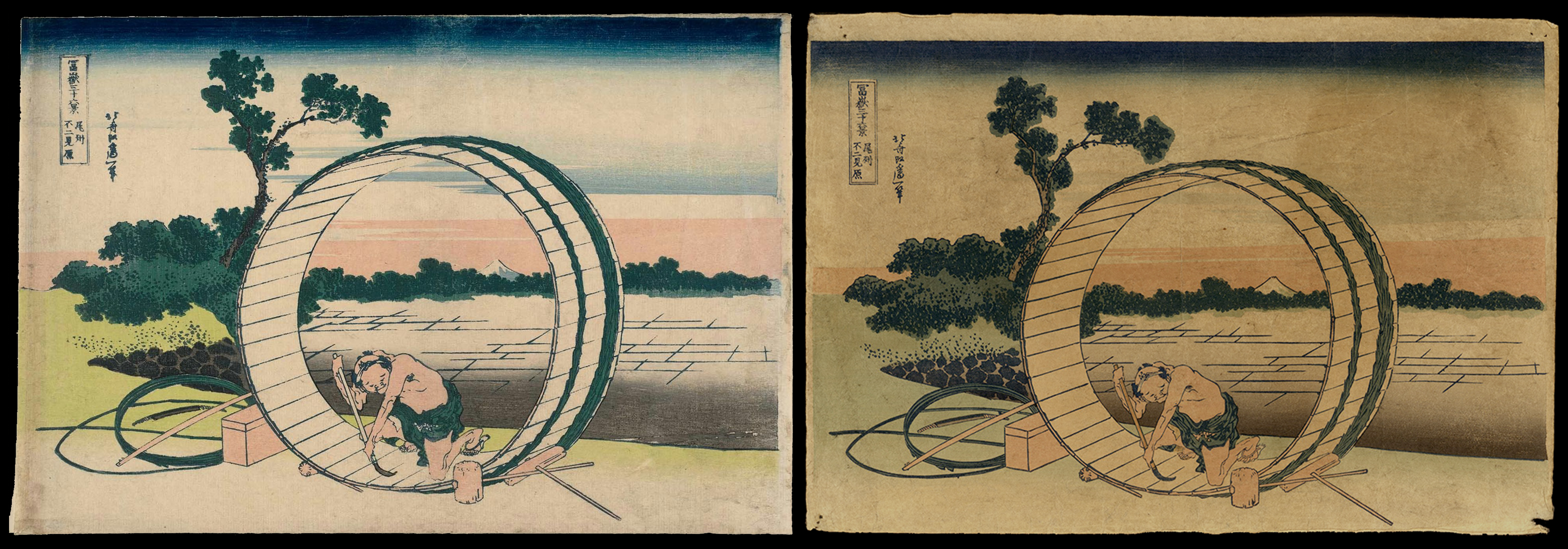 Japanese Woodblock Prints – How tell the difference between real and fake?