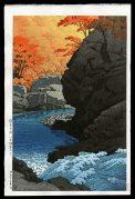 Tengu Rock.  Shiobara