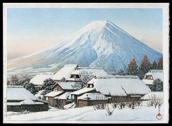 Clearing After a Snowfall, Yoshida