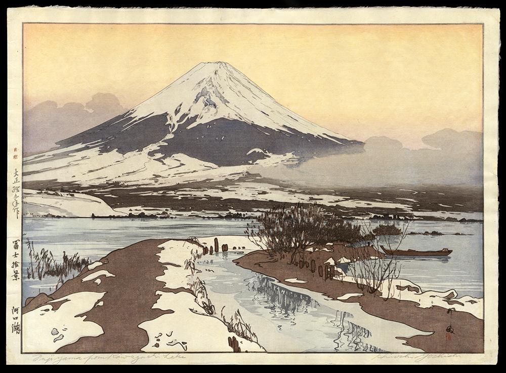 Fujiyama from Kawaguchi Lake