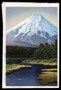 Mt. Fuji Seen from Oshino