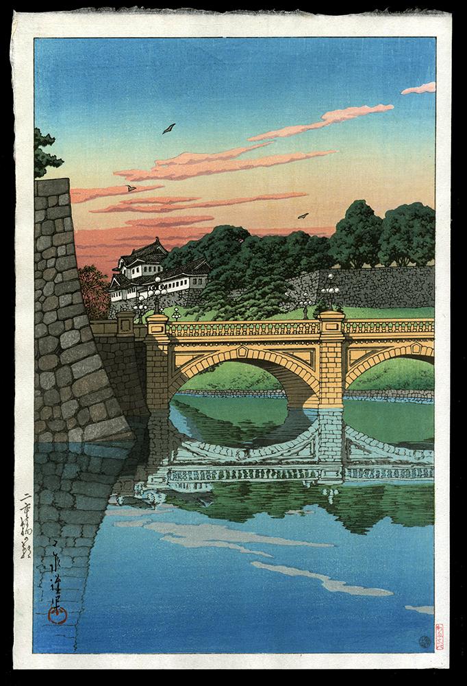 Morning at Niju Bridge