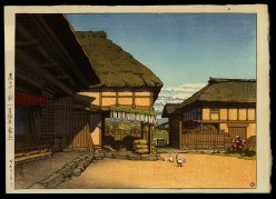 A Farmhouse in Autumn, Ayashi, Miyagi Prefecture