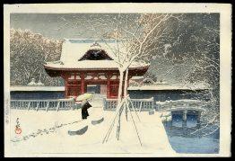 Snow at Shiba Park