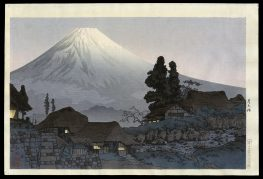 Mount Fuji from Mizukubo