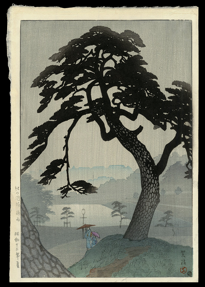 Kinokunisaka in the Rainy Season