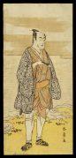 Matsumoto Koshiro IV as a Man Dressed in a Short Kimono