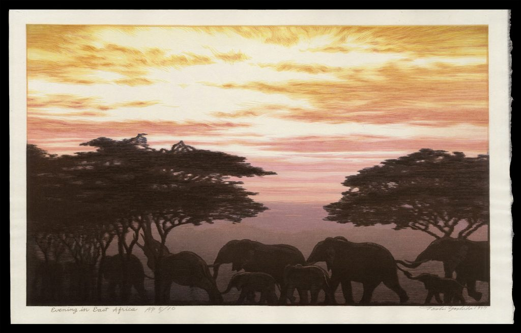 Evening in East Africa