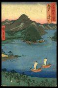 Echizen Province: Tsuruga, Kehi Pine Grove