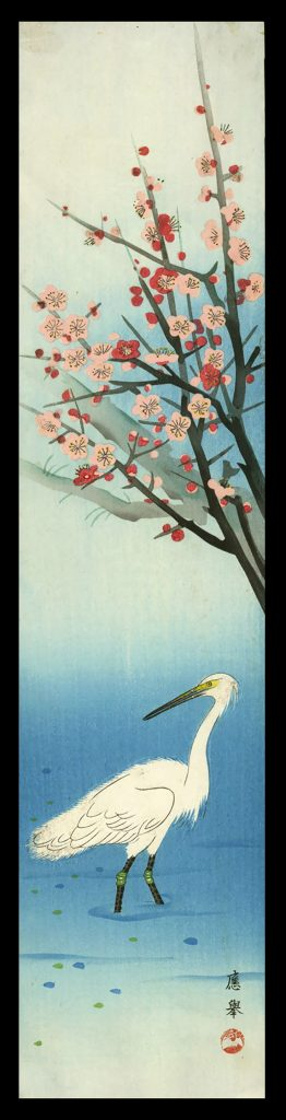 Heron and Plum Blossoms
