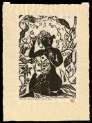 Fish, Flower and Female Buddha