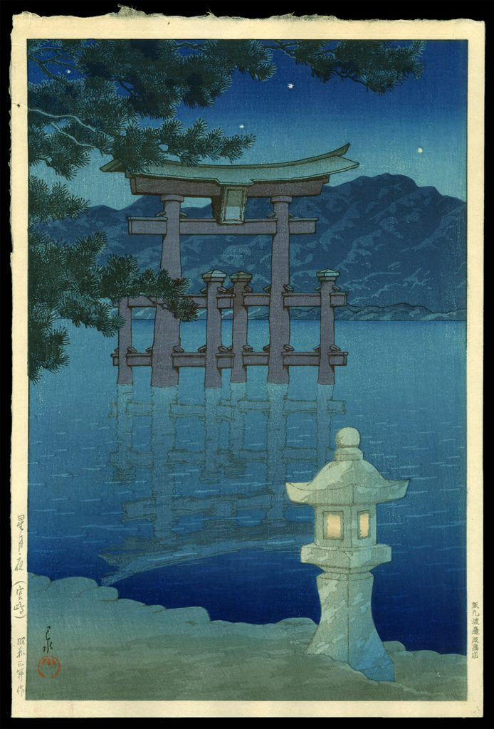 Starlit Night, Miyajima