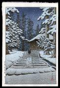 Konjikido in Snow, Hiraizumi