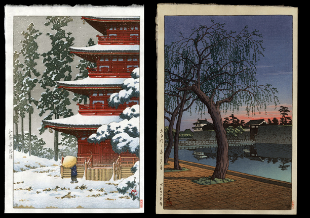 Two Hasui Prints