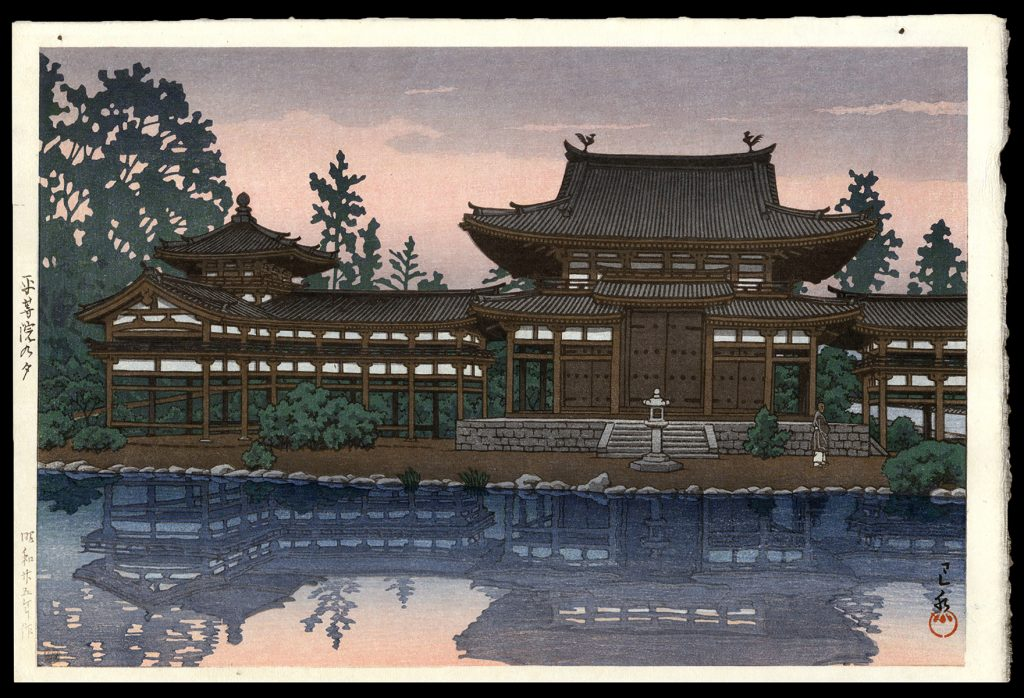 Dusk at Byodo Temple