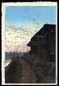 Sunset at Morigasaki