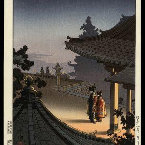 Evening at Mii Temple Koitsu