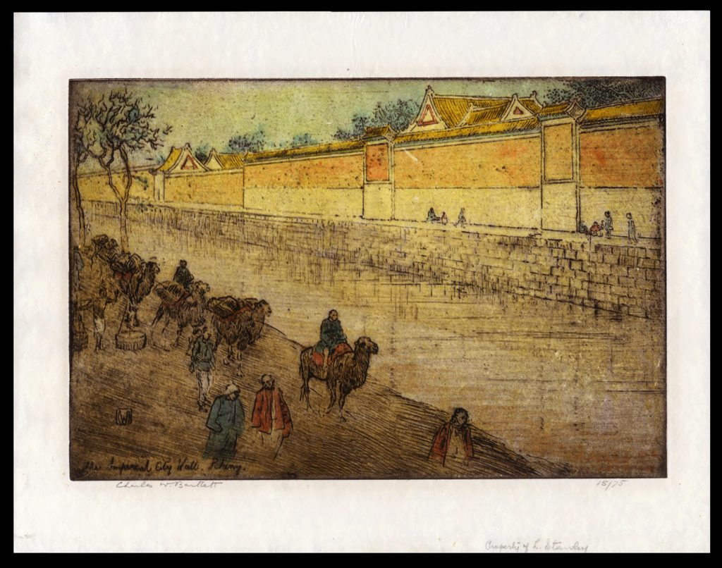 The Imperial City Wall, Peking