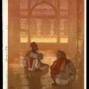 A Window in Fatehpur-Sikri Yoshida