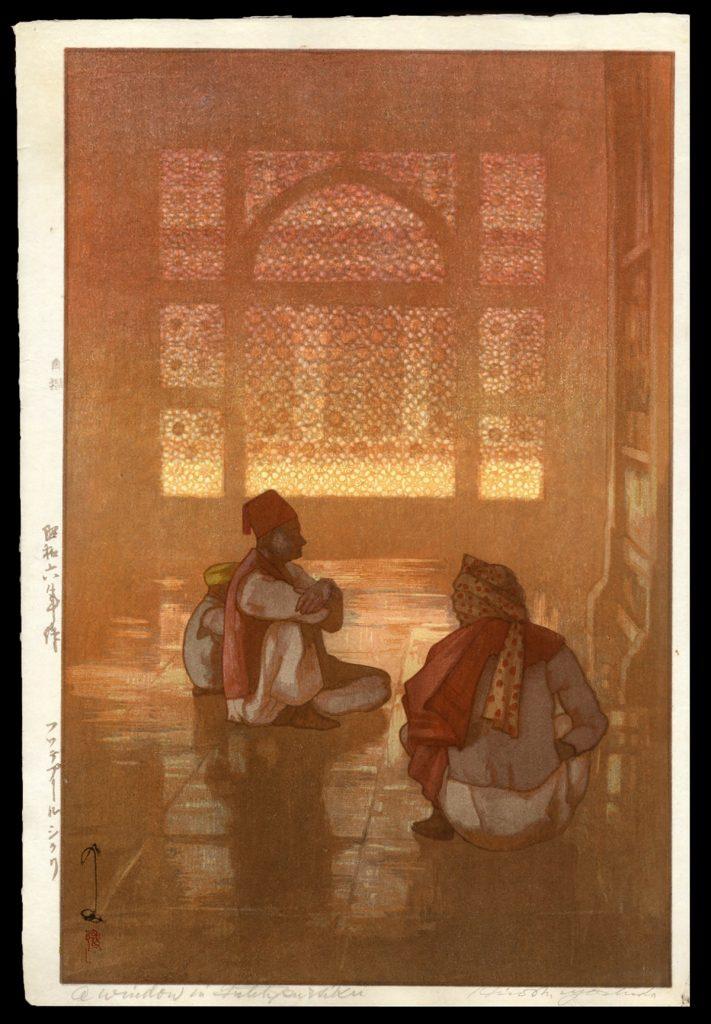 A Window in Fatehpur-Sikri