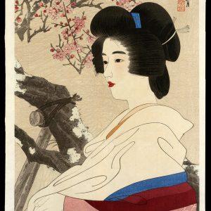 Red Plum Blossoms Shinsui