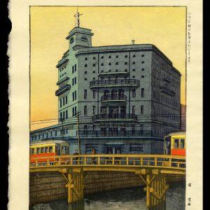 Asahi Newspaper Building Hori