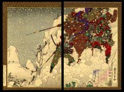 Hideyoshi in a Snowstorm