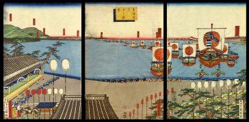 View of Arai on the Tokaido