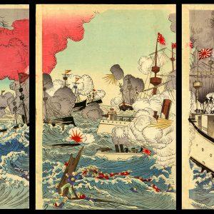 Attack by the Navy at Ikaiei Nobuyasu